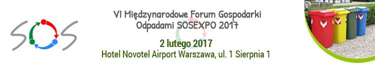 VI Miedzynarodowe Forum Gospodarki Odpadami SOSEXPO 2017